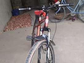 New tair desk brake full ok kadisan shocker complete stand red colour