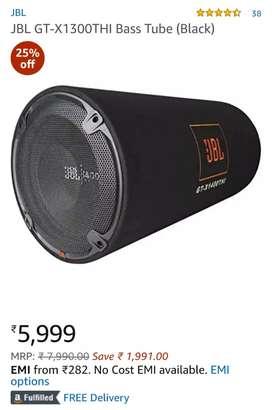 JBL 1300 Watt Bass Tube for Car