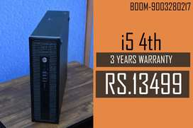 BRANDED HP CPU ( i5 ) 4th Gen - 3 Years Warranty - Free Delivery