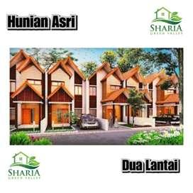 Dijual Rumah Dua Lantai konsep Villa di Cluster shariah Green Valley