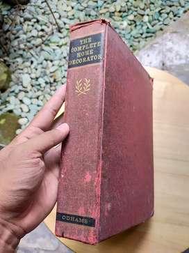 Buku Antik The Complete Home Decorator thn 1960an