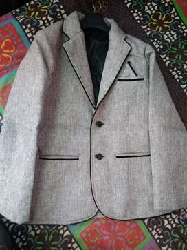 Blazer in white and black colour in new