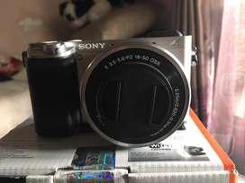 Sony A 6000 silver
