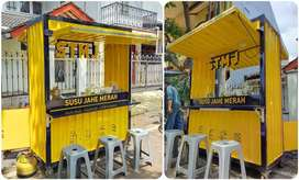 KEDA KOPI COFFEE SHOP BOOTH CONTAINER