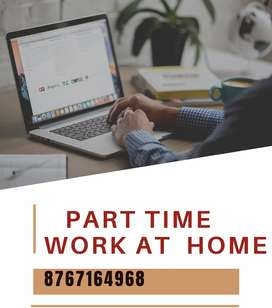 Simple data entry work at your home.