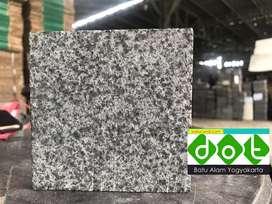 Grey Basalt batu alam granit polkadot hitam hijau abu-abu andesit