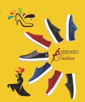 2 Footwear showcase for sale