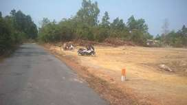 Kavling Perumahan di pinggir Jalan - Kota Tanjung Pandan