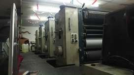 Komori lithrone 440 four Colour Offset Printing Machine For Sale