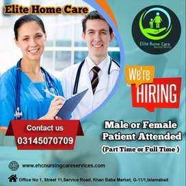 Home Patient Care Services or Certified NURSE Avalibale