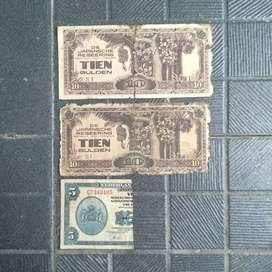 Uang Kuno Lama Old Money Kertas PA1