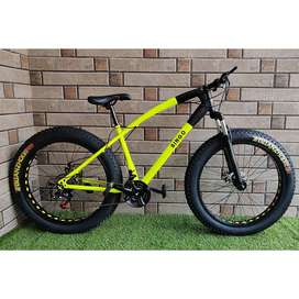 NEW IMPORTED 21 GEARS FAT CYCLES AVAILABLE IN ALL COLOURS
