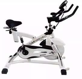 Alat fitnes // sepeda spinning JLS