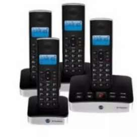 UK imported bt Quad cordless phone with answer machine with intercom