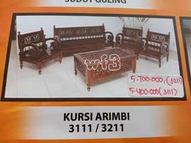 Kursi Kayu Full Minimalis Murah Free Ongkir Medan