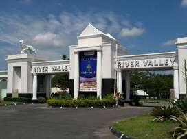 Tanah Kaplingan di Perumahan River Valley