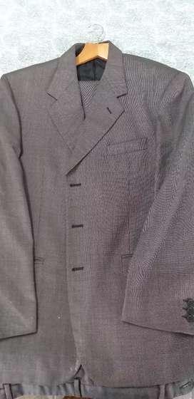 Formal grey suit