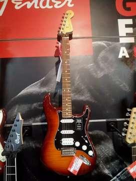 Cicilan Tanpa Kartu Kredit Fender Guitar PLY HSS PLS STRCST Paufero