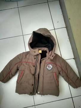 """Jaket merk """"JSP"""" Untuk Anak Laki- laki Usia 2th"""