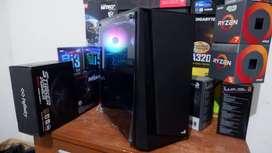 PC Komputer Intel i7 Haswell Feat RX 570 4GB Buat Render,Streaming,Edi
