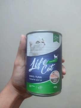 Wet food life cat kaleng 400gr makanan kucing