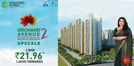 Orchard Avenue 2 by signature global 2BHK 3BHK at affordable prices
