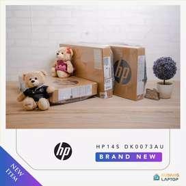 HP14s New Garansi 2TAHUN Mewah SSD 512GB Keyboard NYALA