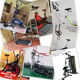Jual Alat Fitness // Treadmill // Sepeda Statis // Home Gym Semarang