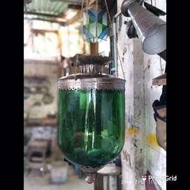Lampu gantung antik lawasan bahan kuningan lampu teras lampu joglo