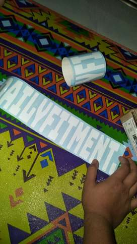 Stickerr DAILYFITMENT. JAZZ SWIFT BRIO AGYA AYLA DATSUN AVANZA XENIA