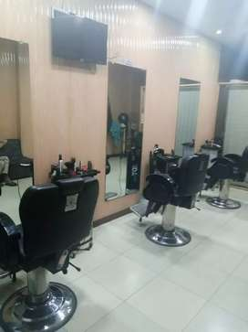 Fully renovated barber shop
