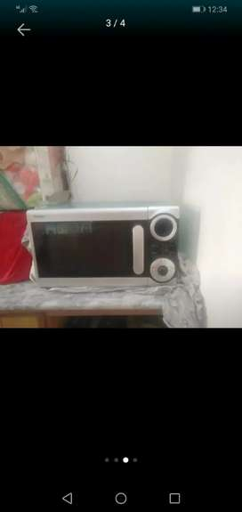 Haier Microwave Oven With Grill (HPK-38100EGS)
