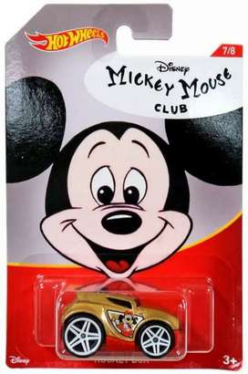 Hot Wheels Mickey Mouse Toy Car