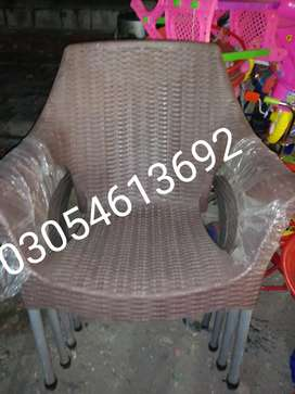 Rattan chairs comfortable sitting home delivery available
