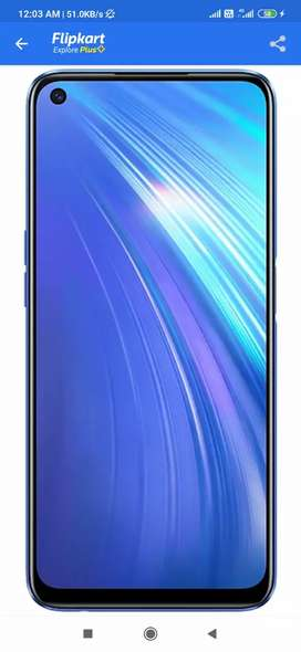 Realme 6 new selled pack