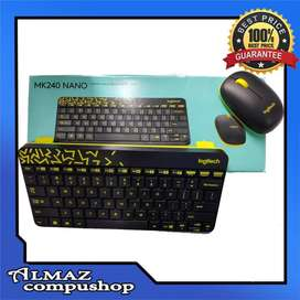 Keyboard + Mouse Logitech MK240 Wireless