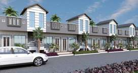 @Unfurnished 1BHK Row house 432sqft area/ in just 13.51 lacs