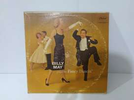 Vinyl Turntable 12 inch Billy May plays for Fancy Dancin