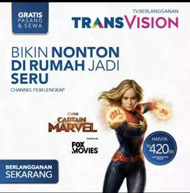 New promo Transvision HD Manado spesial cas/angsuran 3x