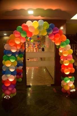 balloons decoration work