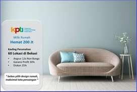 Punya Rumah Profit 150Jt, Mustikajaya: Jl Paving Lebar 5 mtr
