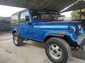 Jeep CJ7 4x4 thn 1984 Mulus