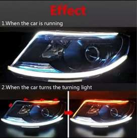 Led Alis buat Headlamp semua Mobil Tanpa bongkar lampu