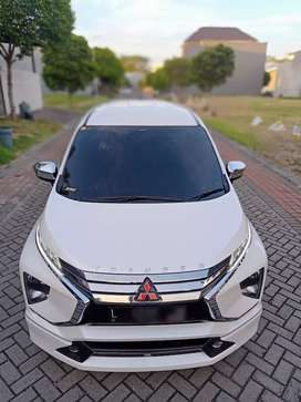 Xpander Ultimate Matic th 2018 (L) tgn1 Putih km20rb Record Mitsubishi