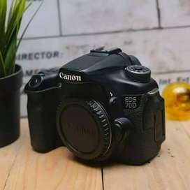Canon 70d bo fullset normal jaya