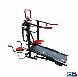 Treadmill manual 6 in 1 Tl-004(SOLO FITNESS CENTER)
