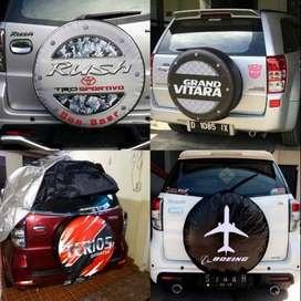 Cover/Sarung/penutup Ban serep vitara/Jeep/CRV/terios feroza rush syuk