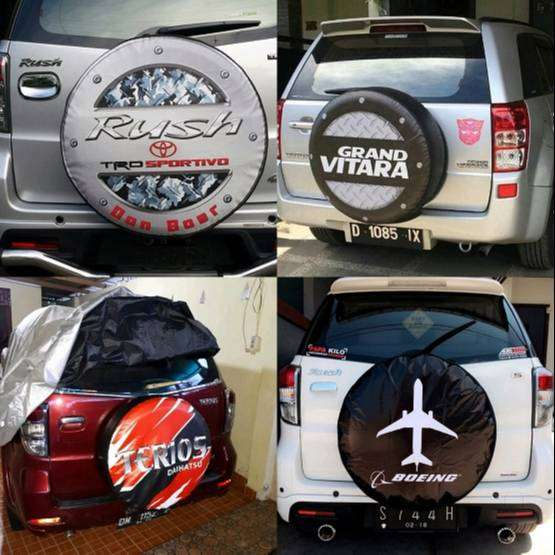 Cover/Sarung/penutup Ban serep vitara/Jeep/CRV/terios feroza rush syuk 0