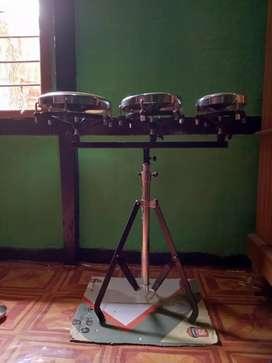 Triple drum Congo