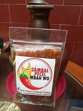 Sambel Pecel Mbah Wo